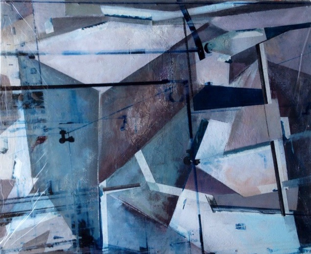 """""""Painting by Erika Nolte; Intercontinental"""""""