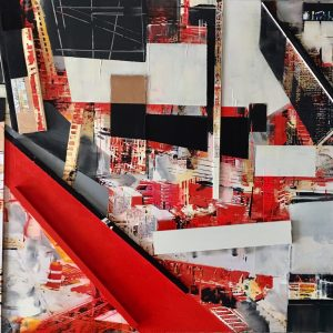 """PAINTING BY ERIKA NOLTE: INTERCONTINENTAL"""